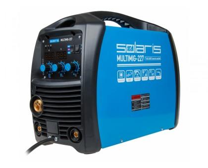 Полуавтомат сварочный Solaris MULTIMIG-227 (MIG-MMA-TIG) (Маска,проволока,спрей)