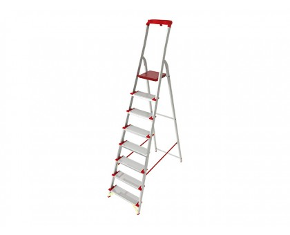 Лестница-стремянка алюм. проф. 169 см 8 ступ.