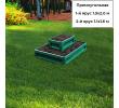 прямоугольная 2-х ярусная (зеленый мох) +15.00 руб.