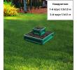 квадратная 2-х ярусная (зеленый мох)