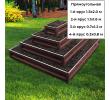 прямоугольная 4-х ярусная (шоколад) +74.00 руб.