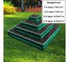 квадратная 4-х ярусная (зеленый мох) +44.00 руб.