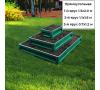 прямоугольная 3-х ярусная (зеленый мох) +44.00 руб.