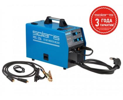 Полуавтомат сварочный Solaris MIG-206