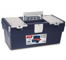 Ящик для инструмента пластмассовый 40x21,7x16,6см (с лотком) (TAYG)