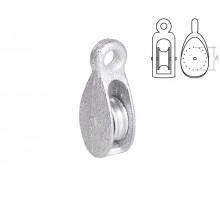 Блок одинарный BK-Simplex металл 50 мм STARFIX