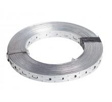 Лента перфорированная прямая 0.55х17 мм (рулон 25м)