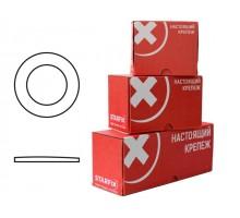 Шайба М10 плоская, цинк, DIN 125 (1000 шт в карт. уп.)