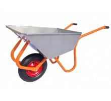 Тачка строительно-садовая ТССР-1П (100л, 120 кг, 1 пневмоколесо 400х90мм, вес 15 кг) (пр-во РБ) (КОМ)