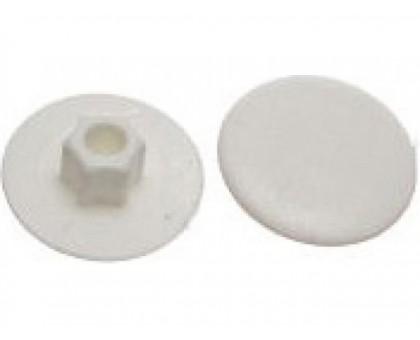 Заглушка для конфирмата, декоративная бук (50 шт в зип-локе)