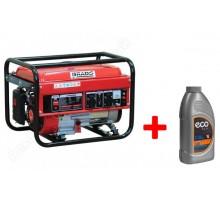 Бензиновый генератор (электростанция) Brado LT 4000B