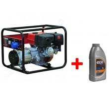 Бензиновый генератор (электростанция) Brado LT7000EB-1