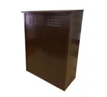Шкаф для газовых баллонов Петромаш на 2 баллона 50л античная медь