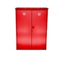 Шкаф для газовых баллонов Петромаш на 2 баллона 50л красный