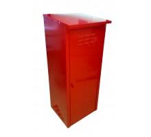Шкаф для газовых баллонов Петромаш на 1 баллон 50л красный